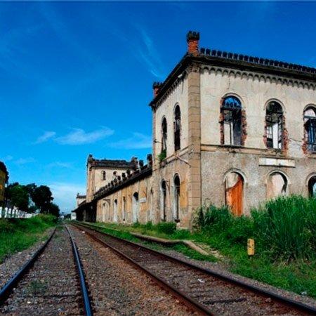 Foto da Estação Ferroviária de Cachoeira Paulista