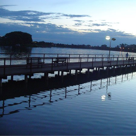 Foto do Lago Maracáo