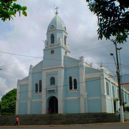 Foto da Igreja Matriz de Ibitinga