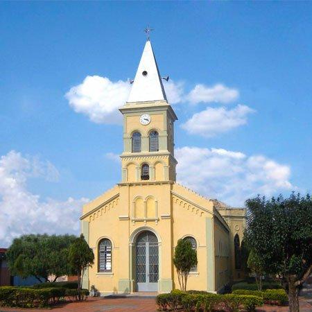 Foto da Igreja Matriz Nossa Senhora Aparecida - Foto: Vicente A. Queiroz