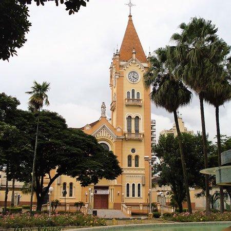 Foto da Praça Central de Monte Alto