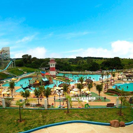 Foto do Parque Aquático de Presidente Prudente