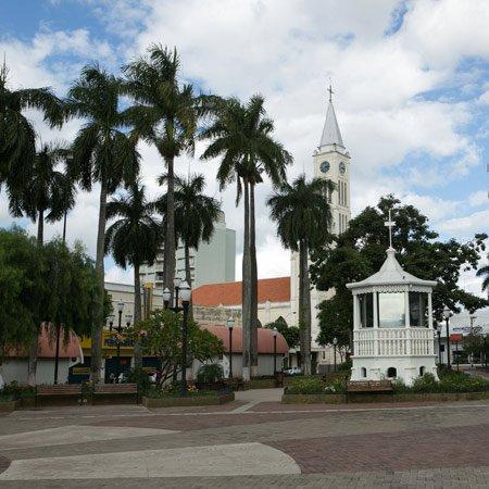 Foto da Praça Dr.Gama