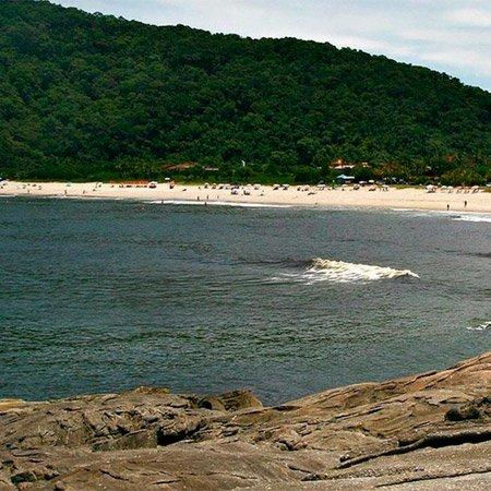 Foto da Praia da Juréia