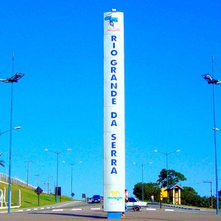 Foto da Entrada da Cidade de Rio Grande da Serra