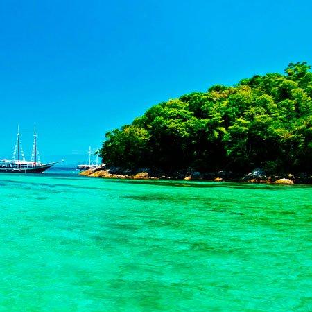 Foto da Praia de Ilha Grande em Angra dos Reis