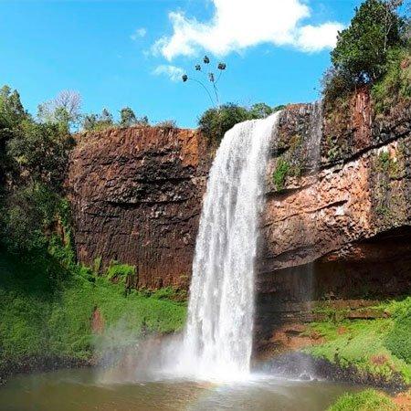 Cachoeiras Irmãs em Araguari