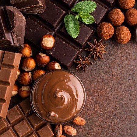 Flores e Chocolates para presentear