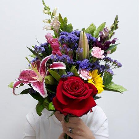 Buquê de Mix de Flores para presente