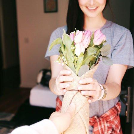 Flores e Presentes especiais para Mulher
