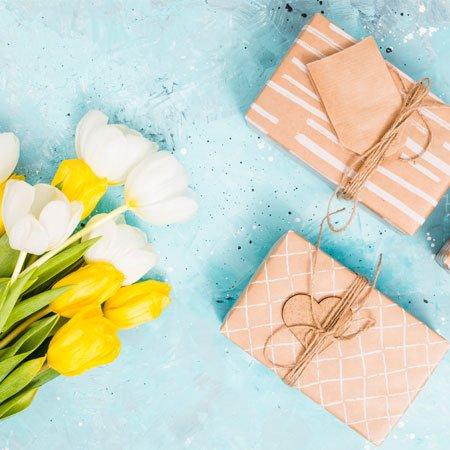 Flores e presentes criativos para diversas ocasiões