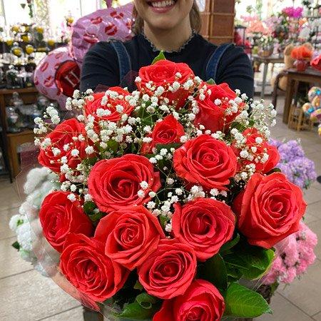 Buquê de Rosas para presentear