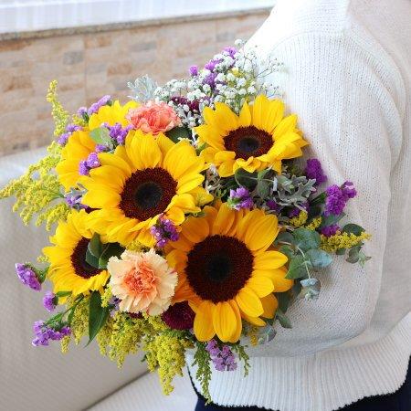 Ramalhete Mix de Flores para inspirar
