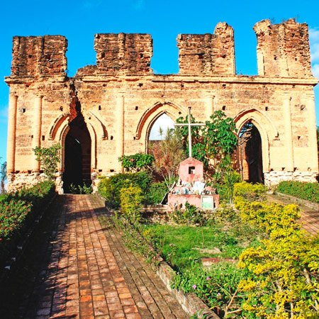 Foto da Cidade de Alagoinhas - Ruína da Igreja de Alagoinhasa