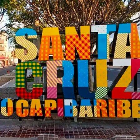Foto da Cidade de Santa Cruz do Capibaribe - Letreiro da Cidade