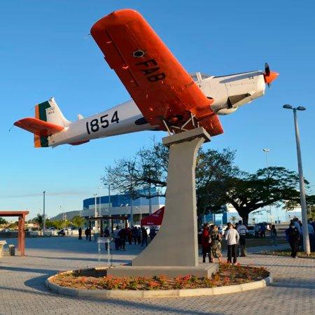 Foto da Cidade de Tubarão - Monumento T-25