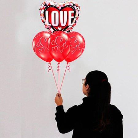 Presentes com Balões