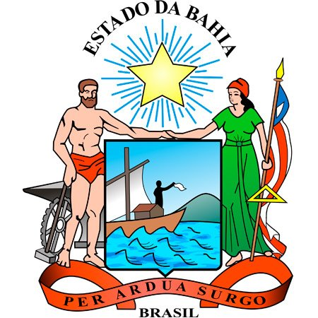 Foto do Brasão de Estado da Bahia