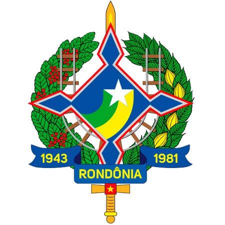 Foto do Brasão do Estado de Rondônia