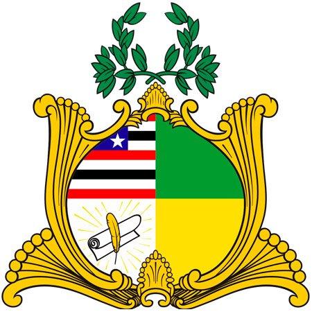 Foto do Brasão do Estado do Maranhão