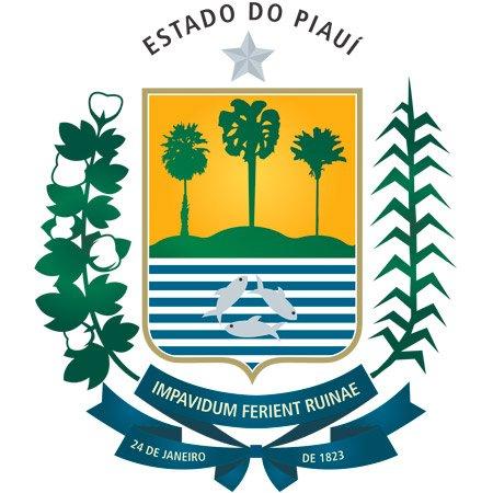 Foto do Brasão do Estado do Piauí