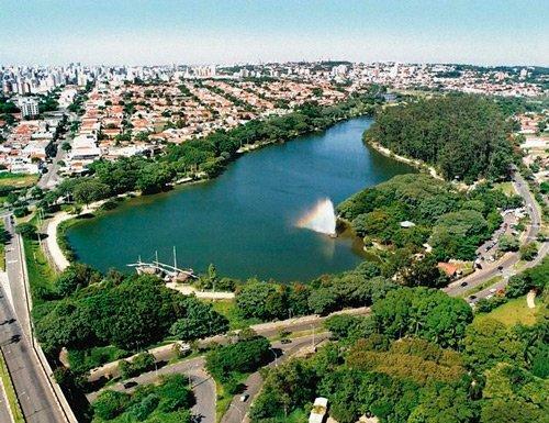 Foto da Lagoa do Taquaral
