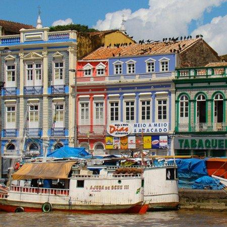 Foto do Centro Histórico de Belém