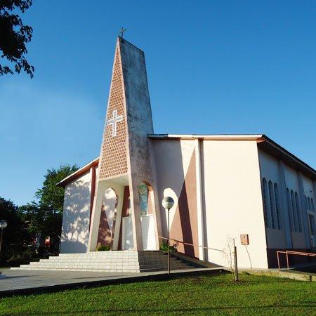 Foto da Igreja Católica de Águas de Chapecó