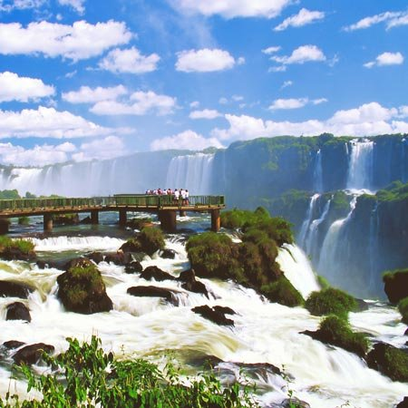 Foto das Cataratas do Iguaçu