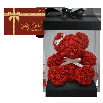 Gift card com teddy flowers Giuliana Flores