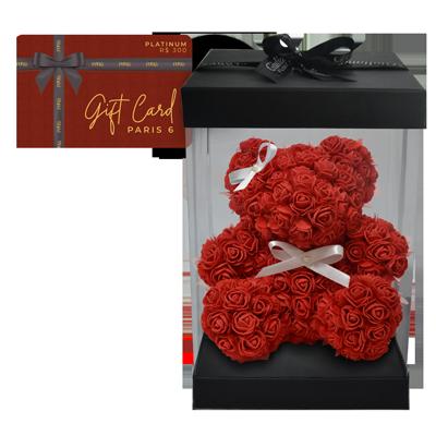 Gift card Platinum e teddy flowers Giuliana Flores