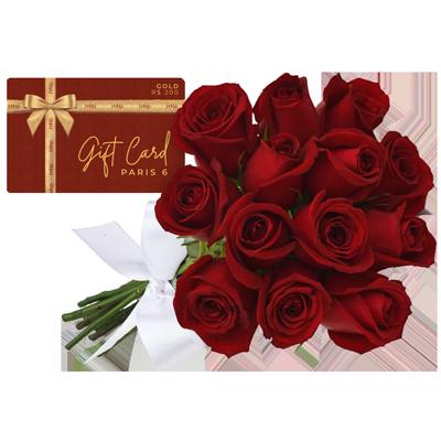 Gift card gold Giuliana Flores