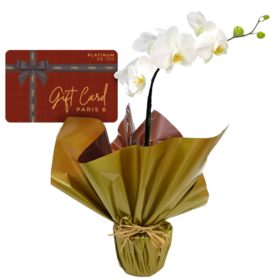 Gift card platinum Giuliana Flores