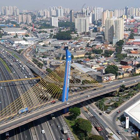 Foto da Ponte Estaiada de Guarulhos