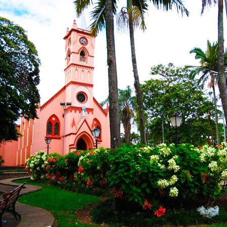 Foto da Igreja Matriz de Jaguariúna