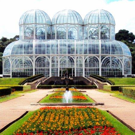 Foto do Jardim Botânico de Curitiba