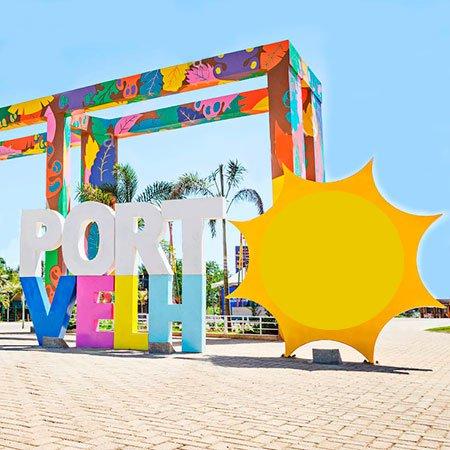 Foto do Letreiro de Porto Velho