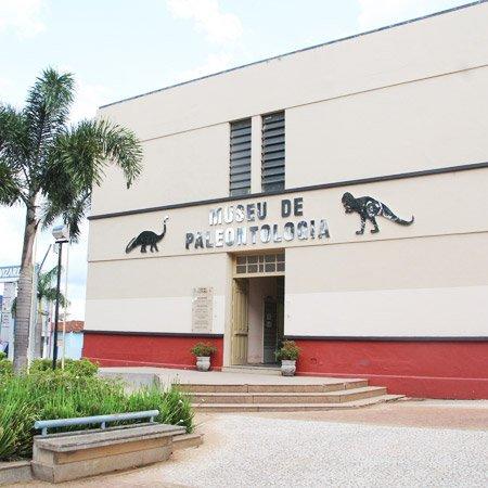 Foto do Museu de Palentologia
