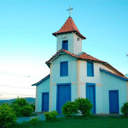 Foto da Igrejinha dos Morrinhos