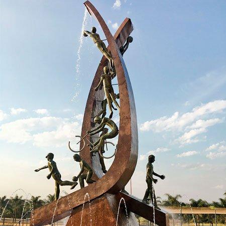 Foto do Monumento ao Esporte