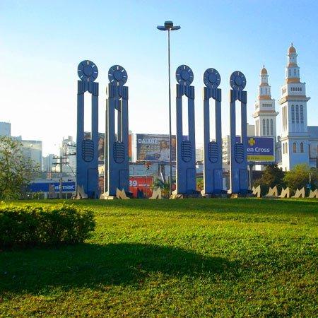 Foto do Monumento do Sapateiro