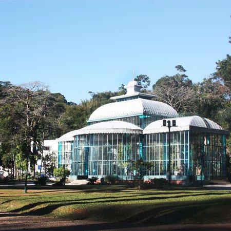 Foto do Palácio de Cristal