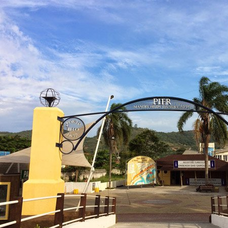 Pier turísticos de Porto Belo