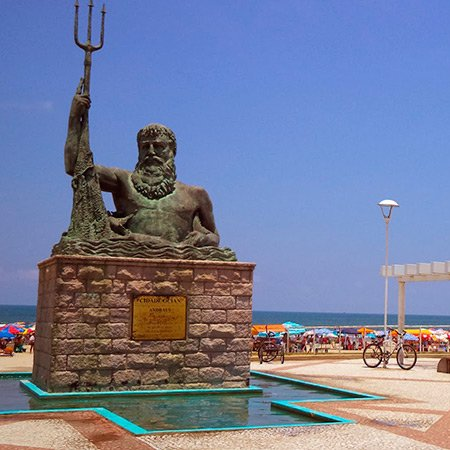 Foto da Estátua de Netuno Ocian