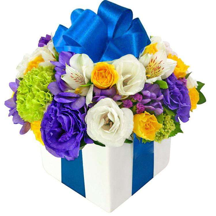 Presente de Flores Blue
