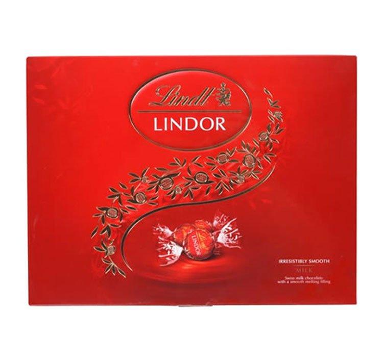 Caixa de Chocolate ao Leite Lindt