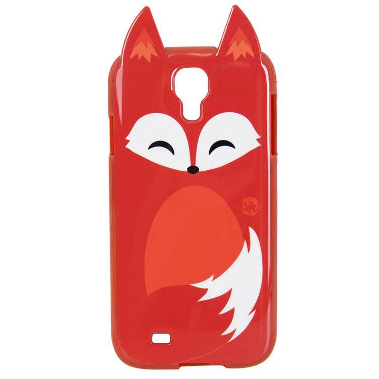 Capa Celular s4 Animal - Raposa Uatt