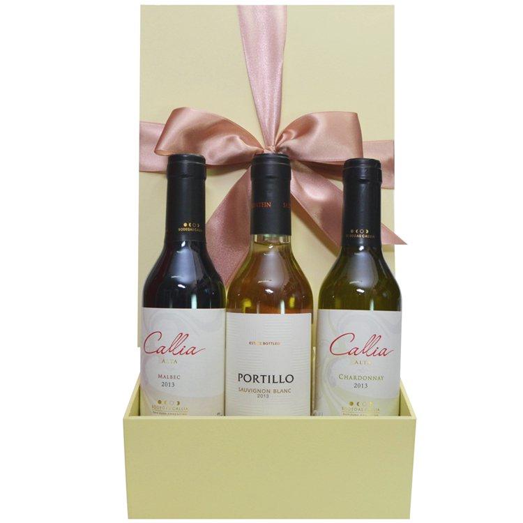 Caixa Presente Vinhos