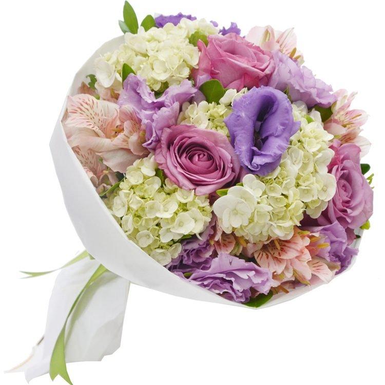 Buquê Carinho de Rosas Lilás