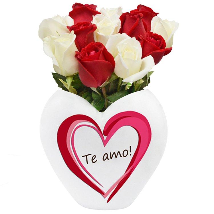 Eterno Amor Vermelho e Branco